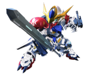 ''SD Gundam G Generation Crossrays'' Barbatus lupus
