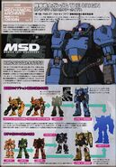 Gundam Ace Magazine YMS-07B-O Prototype Gouf Mechanical Review Vol. 1
