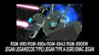 MSUC10 JEGAN JEGAN TYPE-A2(GR) EWAC JEGAN(from Mobile Suit Gundam UC)