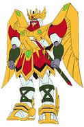 GF13-002NGR Zeus Gundam Front