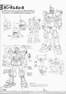 Ez-8 Gundam Ez8 Early Design