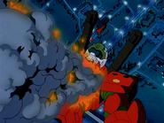 0080 MP Guncannon destroyed