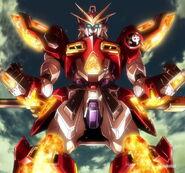 KMK-B01 Kamiki Burning Gundam (Island Wars) 14