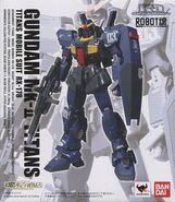 RobotDamashii KaSignature Gundam Mk-II (Titans Colors) front