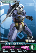 Gundam AGE-1 Spallow GB Try Age 1