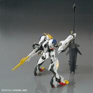ASW-G-08 Gundam Barbatos Lupus Rex (Gunpla 1-144) (Rear With Ultra Large Mace)