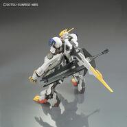 ASW-G-08 Gundam Barbatos Lupus Rex (Gunpla 1-144) (Rear Without Ultra Large Mace)