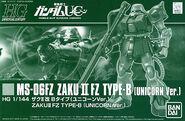 HGUC Zaku II FZ B Type -Unicorn Ver.-