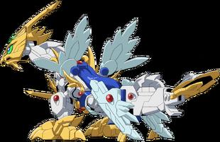 Ex Gundragon Mode (Rear)