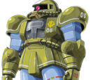 MS-06A Zaku II First Mass Production Type