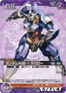 Gundam AGE-1 Spallow Carddass