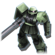 Gundam Diorama Front 3rd MS-06F Zaku II