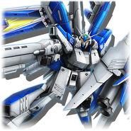 Hi-ν Gundam Heavy Weapons System Gundam Diorama Front 3rd.