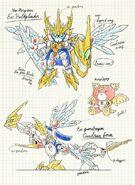 Ex Valkylander sketch by Shinya Terashima