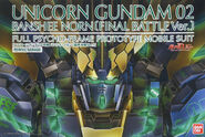 PG Unicorn Gundam 02 Banshee Norn -Final Battle Ver.-