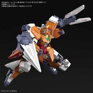 Satanix Gundam (Gunpla) (Action Pose)