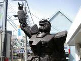 Bronze Gundam Statue