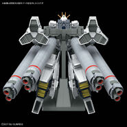 RX-9-A Narrative Gundam A-Packs (Gunpla) (Rear)
