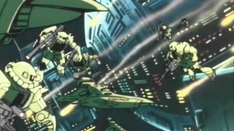 002 MS-06 Zaku II (from Mobile Suit Gundam)