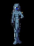 G Gen Cross Rays Custom Character (Male Oz Pilot with Helmet)