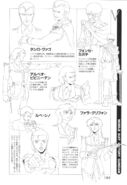Victory Gundam Characters Lineart 05
