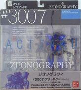 Zeonography 3007 ActZaku box-front