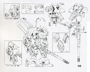 AMS-119 - Geara Doga Heavy Weapons Type - 20cm RangeBruno Gun