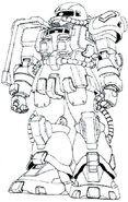 MS-06T Zaku Trainer Type