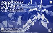 Enhanced Expansion Parts for ZZ Gundam VerKa