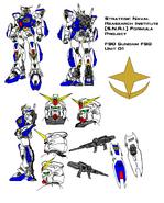 F90 Gundam F90 Unit 01