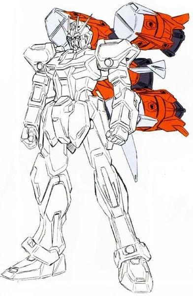GAT X105 AQM E X04 Gunbarrel Strike Gundam