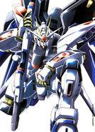 Gundam Strike Freedom Illust