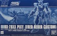 HGUC Pixy (Fred Reber Custom)