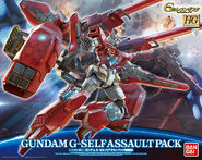 Hg Gundam G-Self Assault Pack