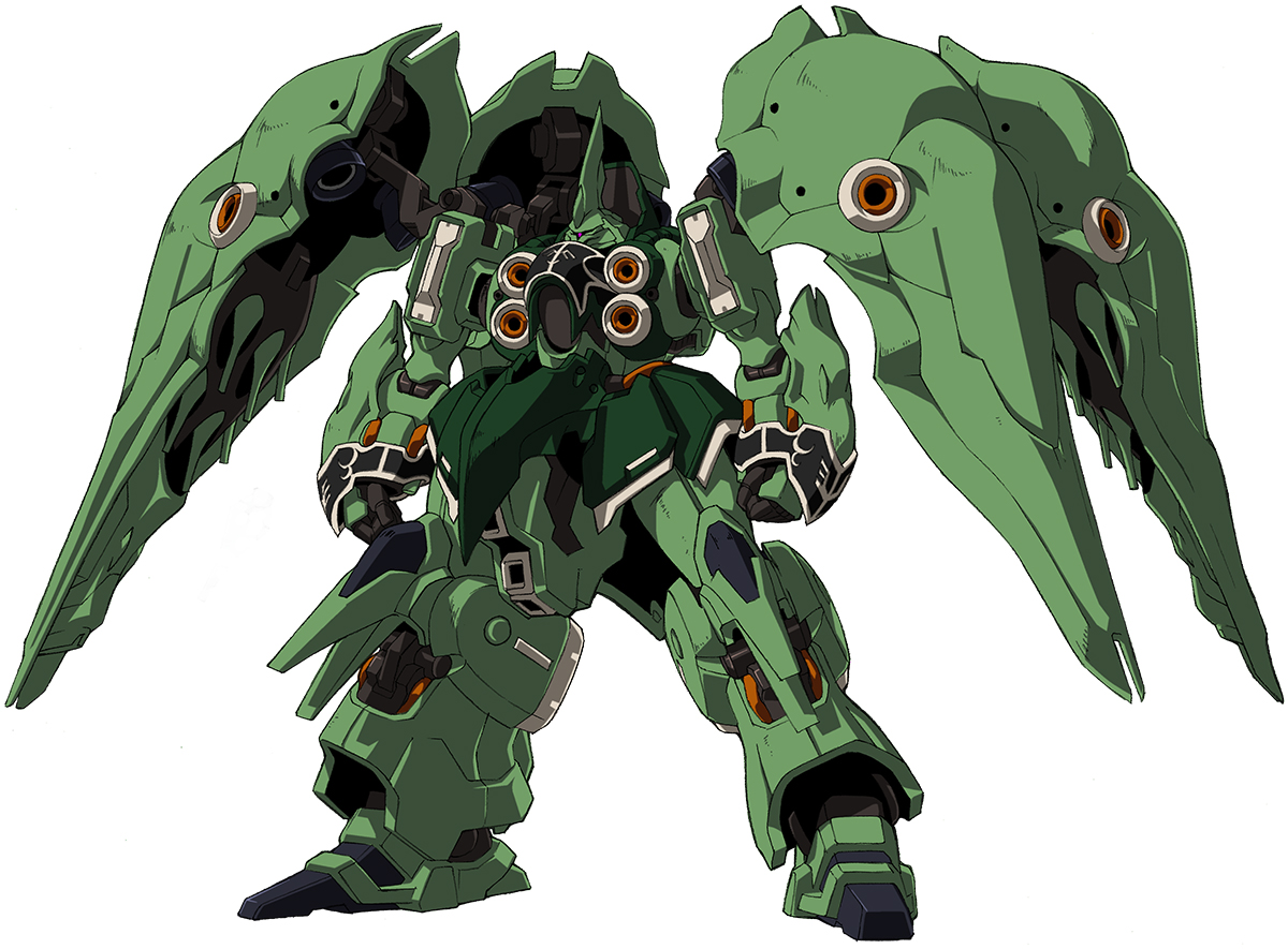 Nz 666 Kshatriya The Gundam Wiki Fandom Powered By Wikia Wing Pilot Garuda Front