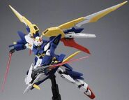 XXXG-01Wfr-A Gundam Fenice Rinascita Alba (Gunpla) (Action Mode 2)