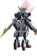 Gundam barbatos lupus rex rear
