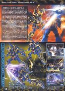 Musha Gundam Mk. II Manual Spread