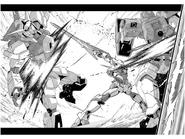 The Gundam in Combat