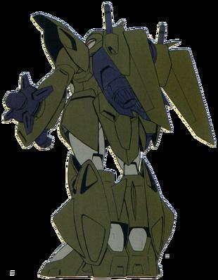 Mobile Suit mode (Rear)