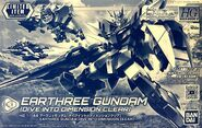 HGBDR Earthree Gundam -Dive Into Dimension Clear-