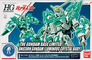 HGUC Unicorn Gundam (Luminous Crystal Body)
