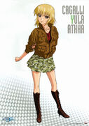 Gundam SEED Cagalli Illustration by Hiromitsu Morishita