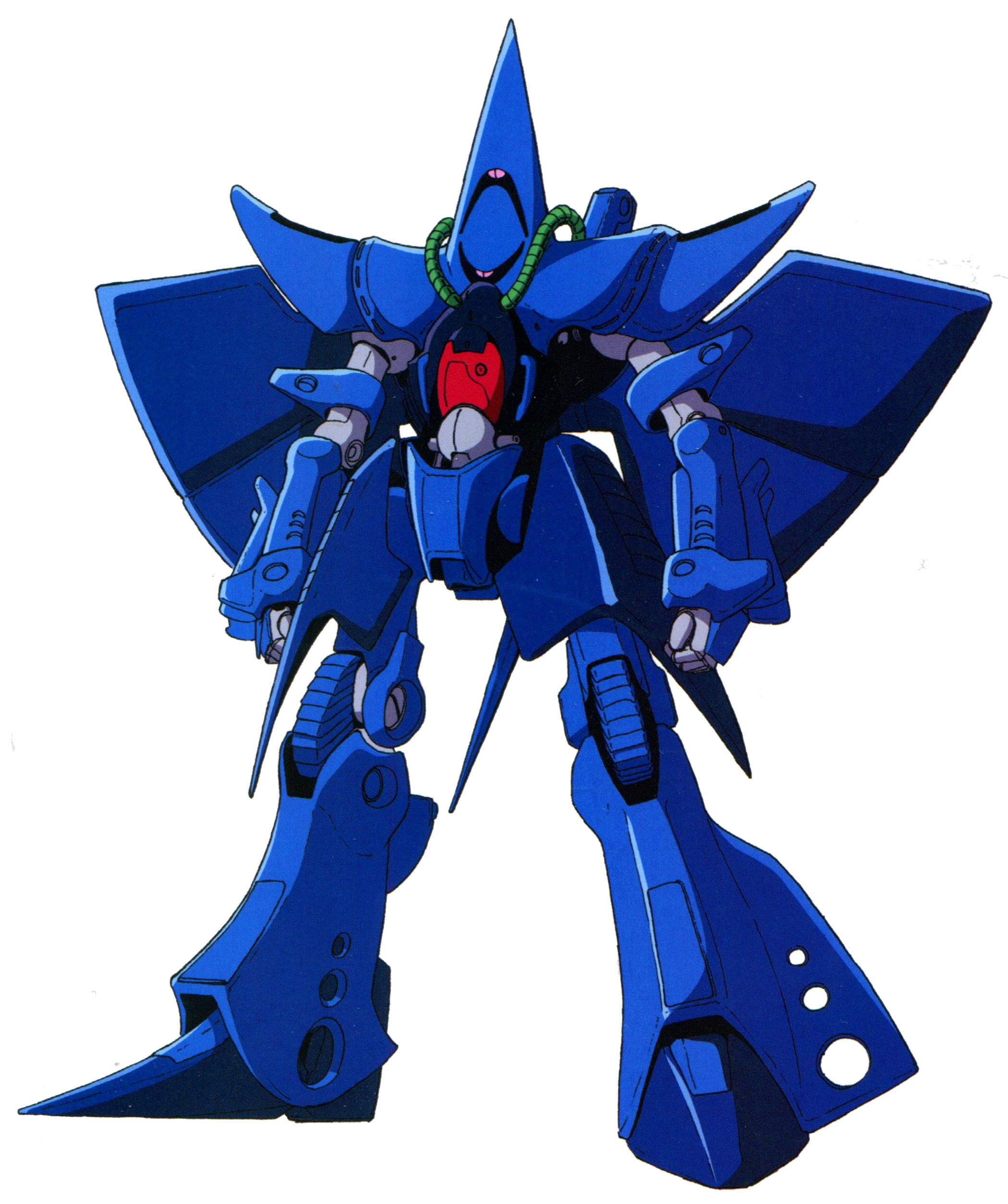 MIA Mobile Suit Zeta Gundam RMS-106 HI-ZACK Earth Federation Forces MS IN ACTION