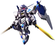 SD Gundam G Generation Cross Rays Gundam Bael