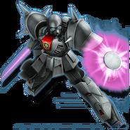 Gundam Diorama Front 3rd XM-01 Den'an Zon