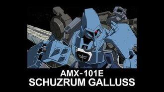 MSUC30 SCHUZRUM GALLUSS(from Mobile Suit Gundam UC)
