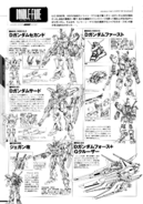 Under the Gundam Double-Fake Linearts