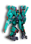 Gundam Online Gundam MK-V Zeon Back