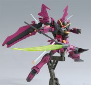 HGBD Gundam Love Phantom (Pose 1)